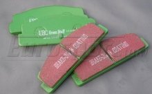 Brake Pads - Rear - EBC Greenstuff