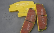 Brake Pads - Rear - EBC Yellowstuff