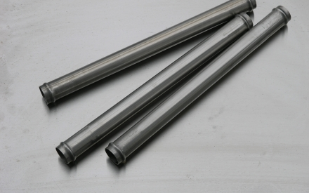 Straight stainless steel cooling pipe for Lancia Montecarlo